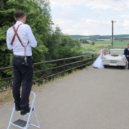 Jednodenní práce svatebního fotografa?