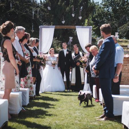 Svatba doma na zahradě? Proč ne?!